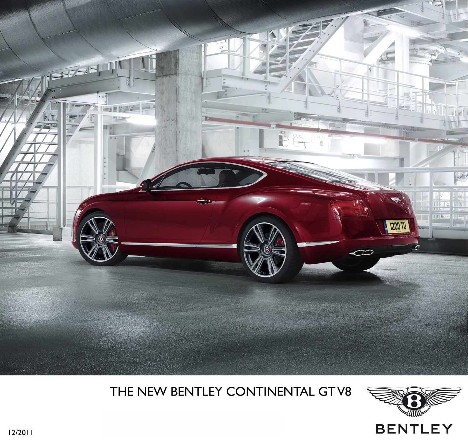Bentley Cars 2012: Daily Cars: New 2012 Bentley Continental V8