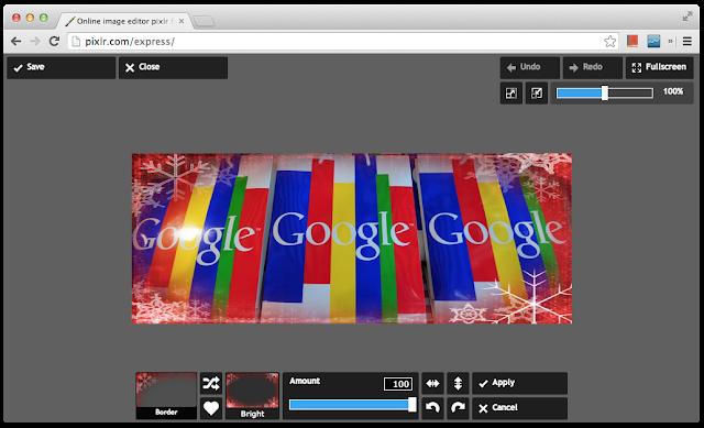 Pixlr Express 即時顯示特效處理結果