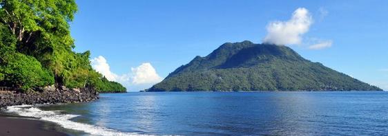 Pulau Hiri yaitu salah satu pulau yang berada di erat  Pulau Hiri - Wisata Maluku Utara