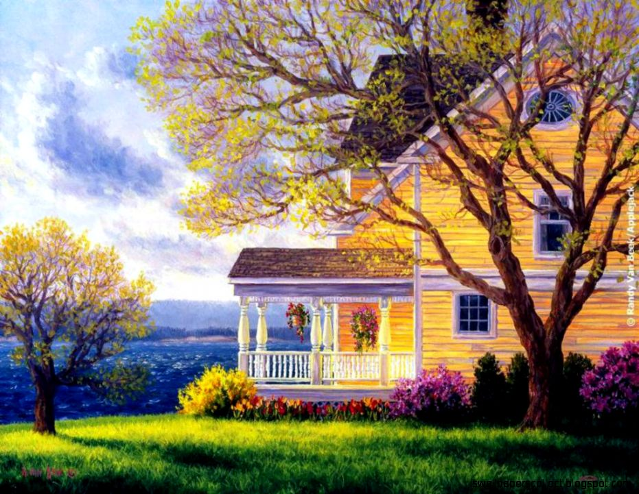Country home wallpaper desktop hd background wallpapers for Home wallpaper 0