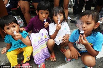 Waduh Rokok Popeye Ajari Anak Indonesia Merokok Sejak Dini