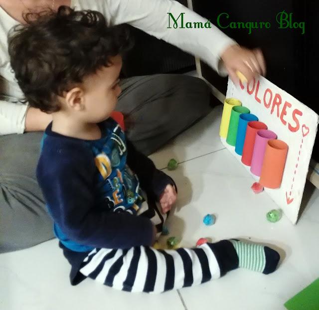 tablero aprendo colores jugando