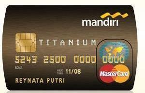 kartu kredit mandiri titanium