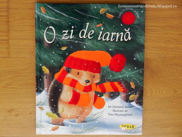 O zi de iarnă editura infoDar