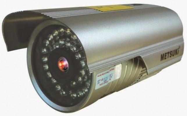 Lắp đặt camera METSUKI MODEL-6000HDIS12