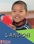 January 14th, 2017: Landon! (China)