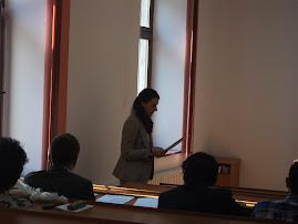 Aspect de la susţinerea tezei d-rei Valentina-Cristina Sandu, 25.09.2012