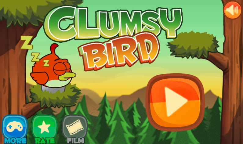 Clumsy Bird game like Flappy Bird