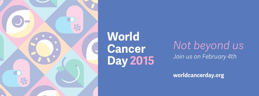 Personalizar tu perfil o usar las cabeceras #WorldCancerDay #Facebook