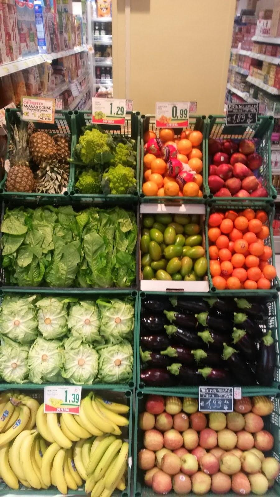 la nostra frutta e verdura.....