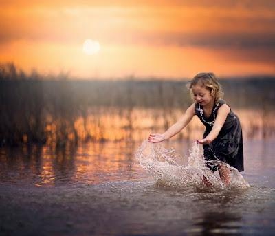 natural splash art-photography