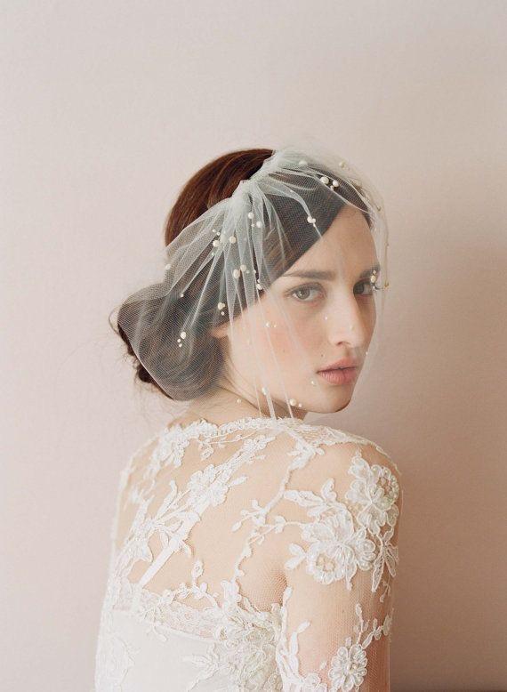 свадебные уборы: вуаль