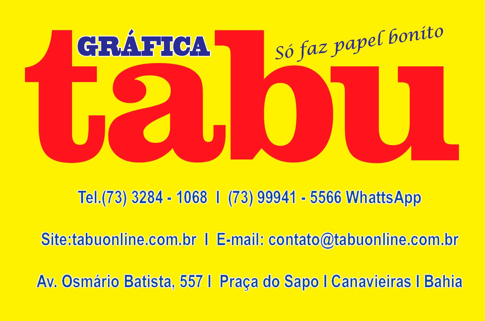 GRÁFICA TABU- JORNAL TABU