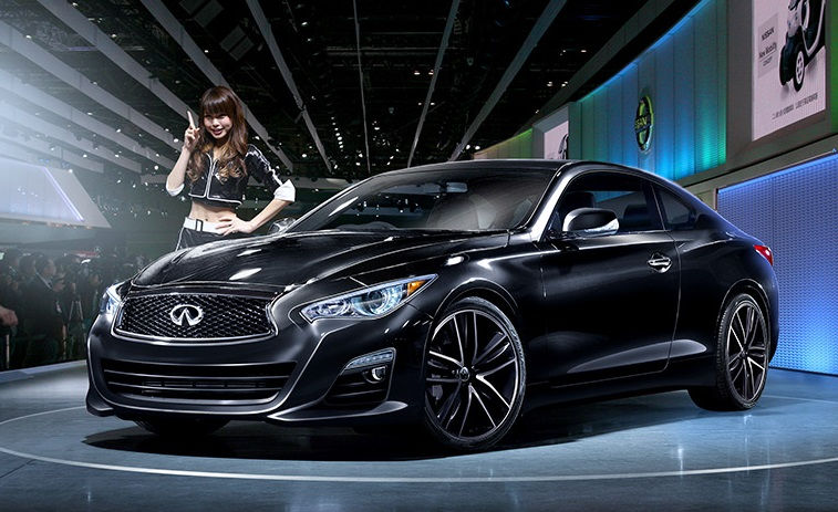 The Two Door Coupe From Infiniti Wearing Q60 Badge Surely Stood Out So Many Fantastic Cars At Floor Of 2017 Detroit Auto Show