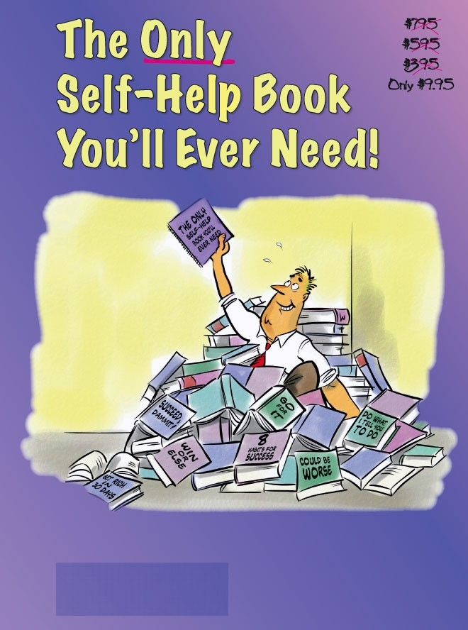 Self help books on being positive