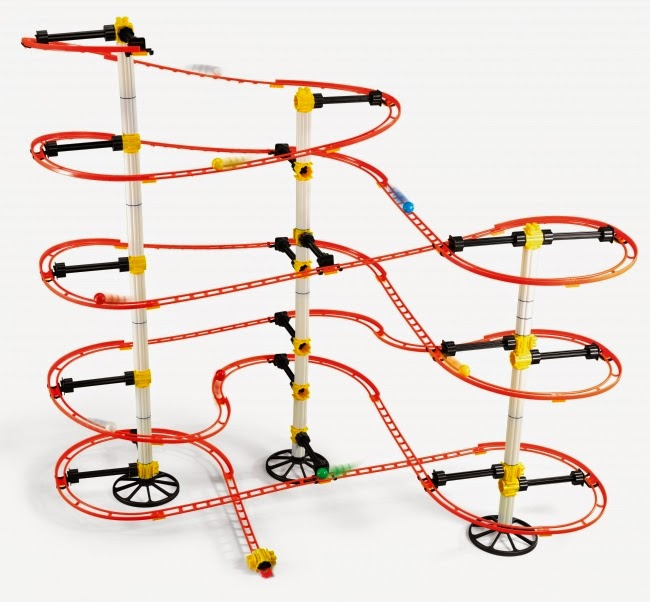Marble Coster Wheels : Great toys for children from makers the marble run
