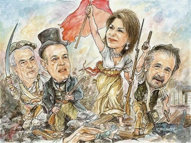 """Μr Tsipra , o Κιμ Γιονγκ Ουν λανσάρει 300 νέα συνθήματα για «εθνική ανάταση»! Aντιγράψτε τον για την επιτυχή έκβαση εξαπάτησης του Πόπολου με τίτλο """"Σοσιαλιστική Επανάσταση""""! Μην ξεχνιόμαστε..."""