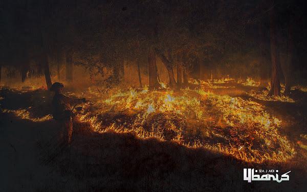 kebakaran hutan-Sajak4baris