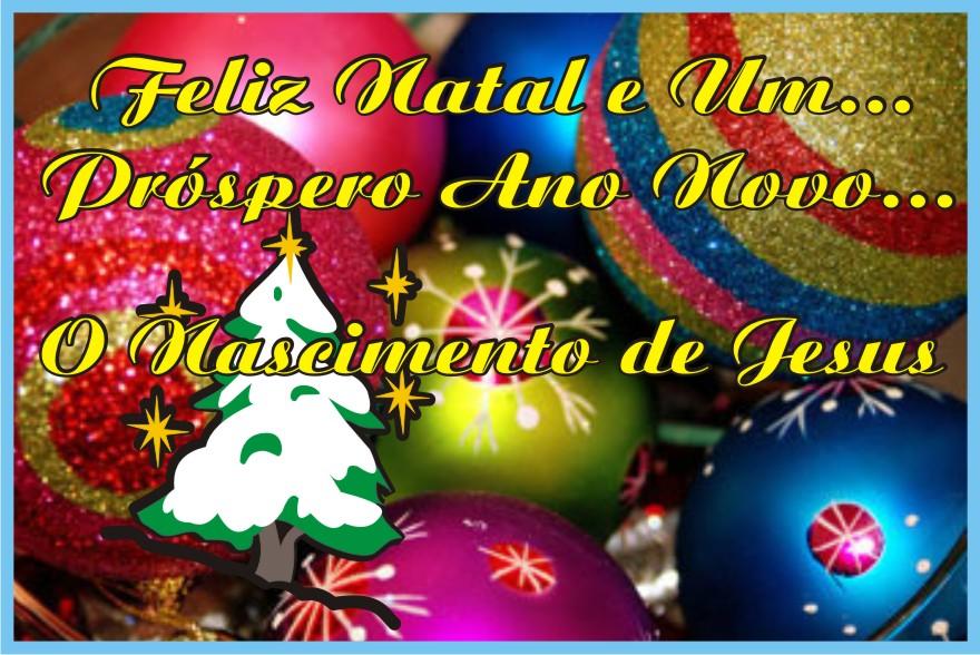 Felíz Natal Próspero Ano Novo