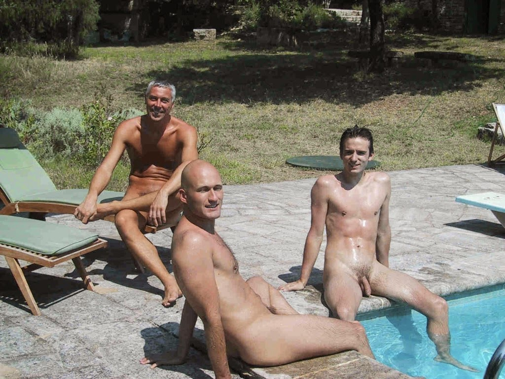 James naturist pool nudist