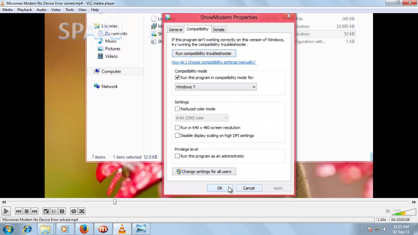 Micromax Modem no device Error solved in windows 8 ~ PRADEEP WEB SOLUTION