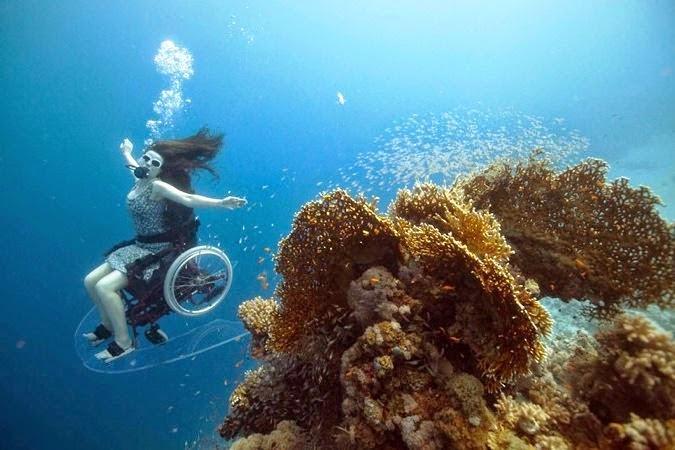Under Water Wheelchair