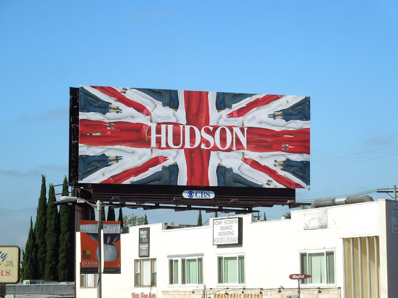 Hudson Jeans Union Jack 2012 billboard
