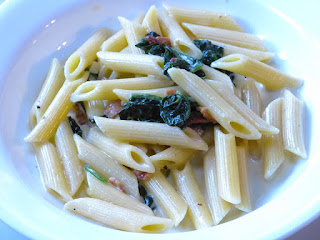 Bacon & Spinach Pasta