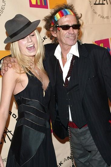 fashionpilule rockn roll daughterslike father like