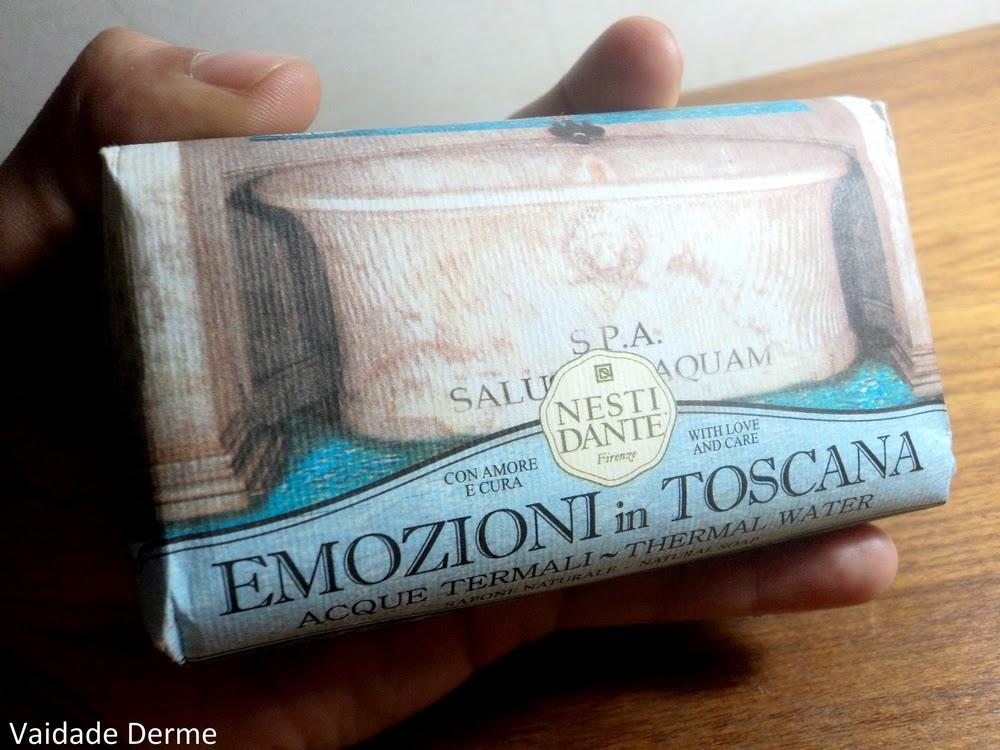 Sabonete em Barra Emozioni in Toscana Acque Termali da Nesti Dante