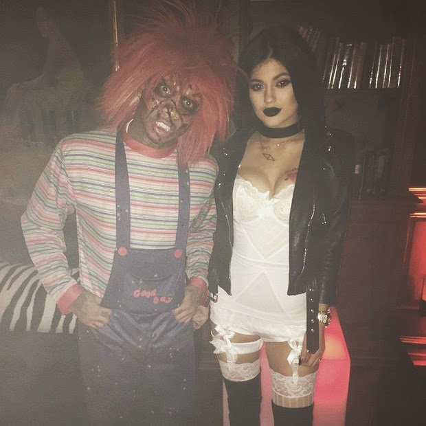 Kylie Jenner, Kim Kardashian, younger sister dares with sexy costume