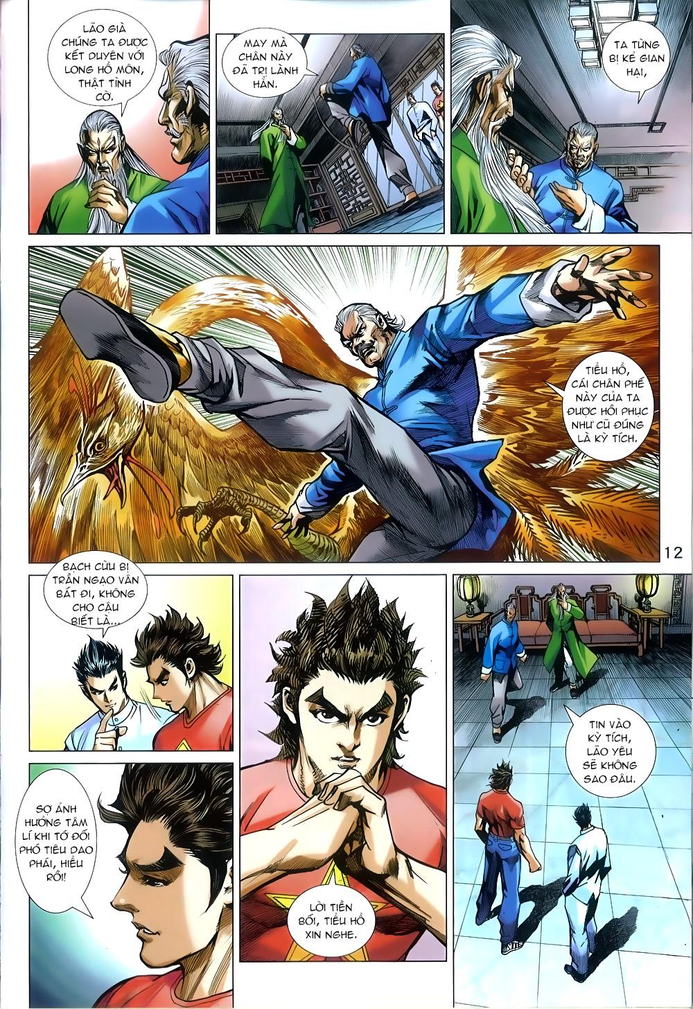 Tân Tác Long Hổ Môn chap 812 Trang 12 - Mangak.info