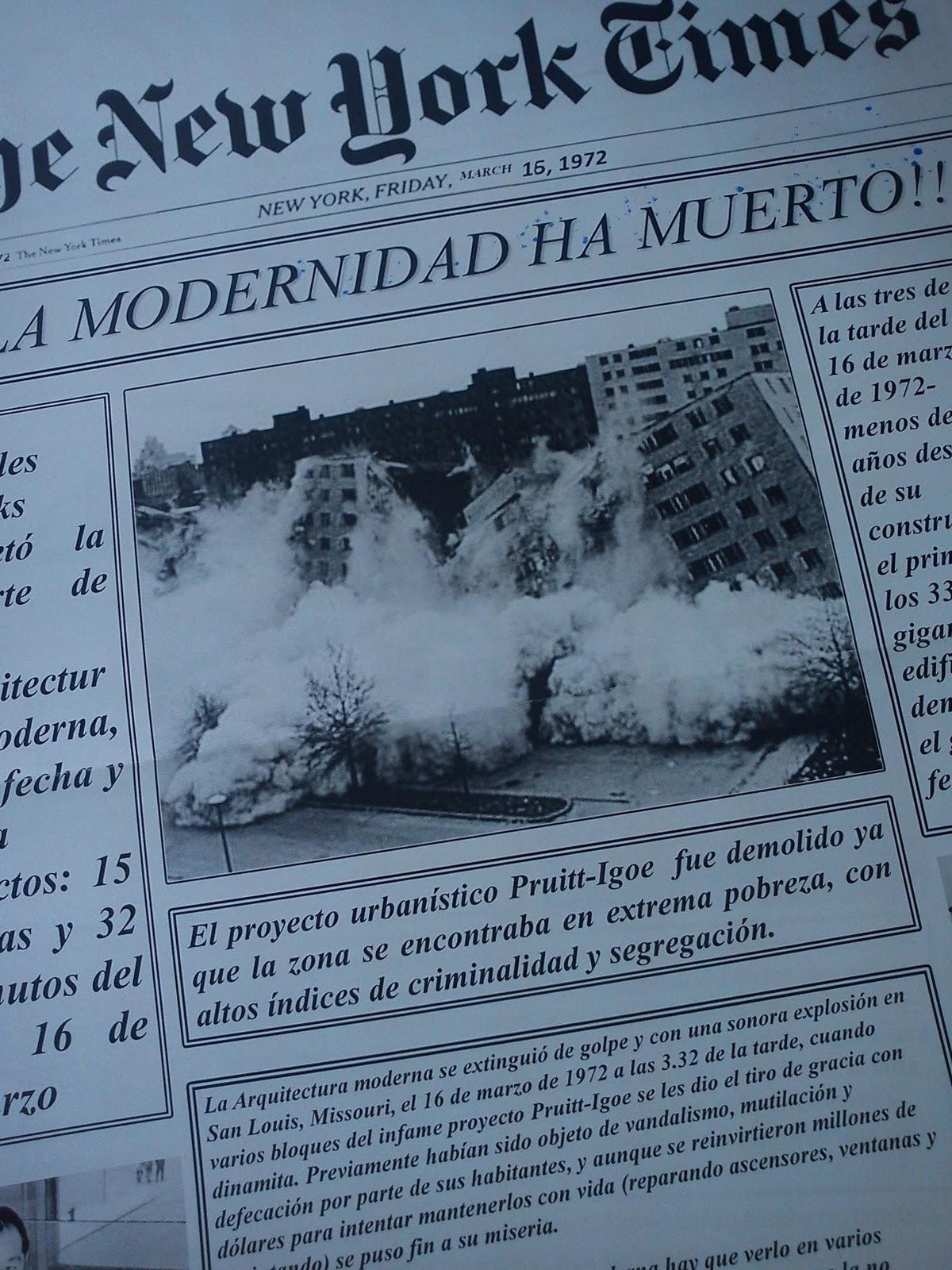 Teor a de la arquitectura 2 la muerte de la arquitectura - Movimiento moderno ...