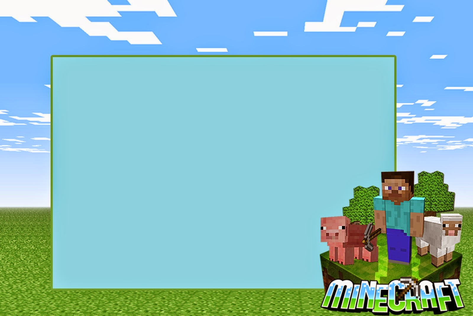 Printable Minecraft Invitations as good invitation example