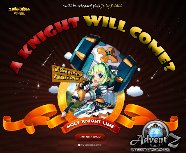 Grand CHase New CHaracter Lime the Holy Knight