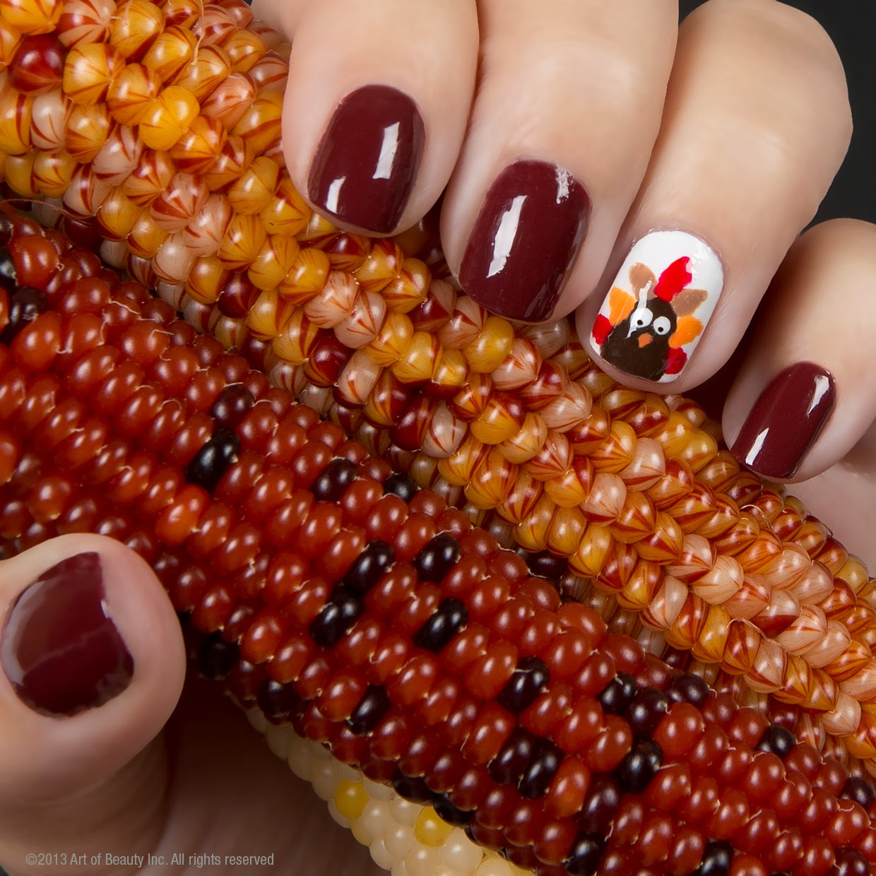 Turkey Nail Art With Zoya Zoya Nail Polish Blog