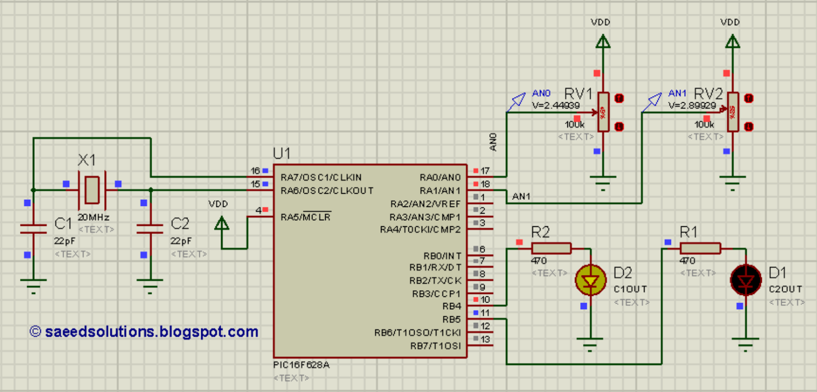 Pic16f628a Comparator Code Proteus Simulation Saeeds Blog Design A 4 Bit Circuit Is And
