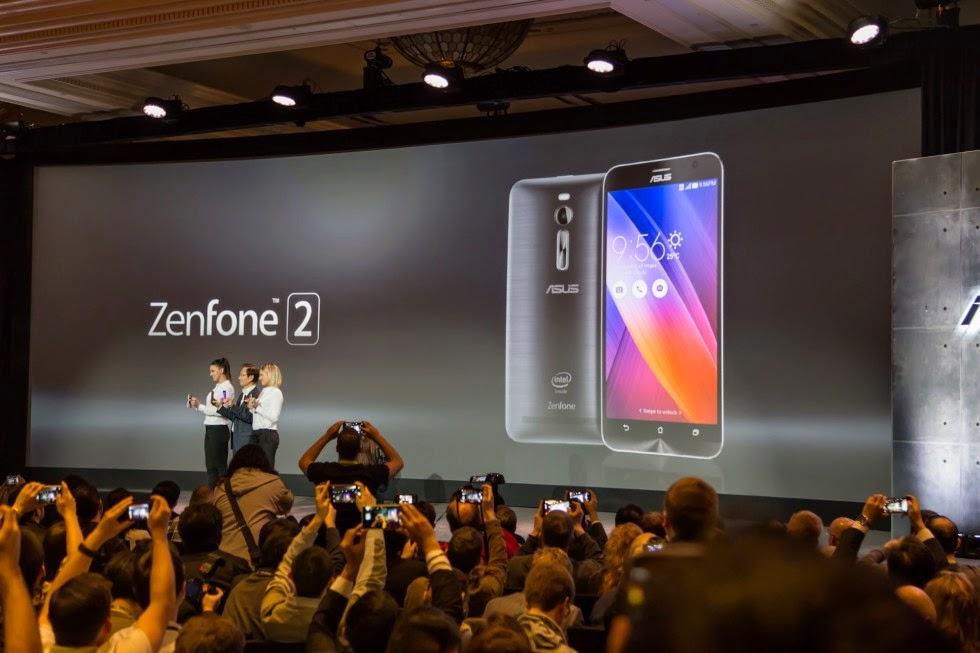 Asus Zenfone 2 dijangka dijual Malaysia pada pada 16 Mei 2015