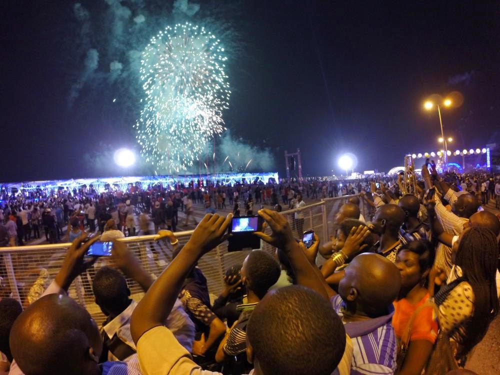 Bar Beach fireworks better watched on smartphones
