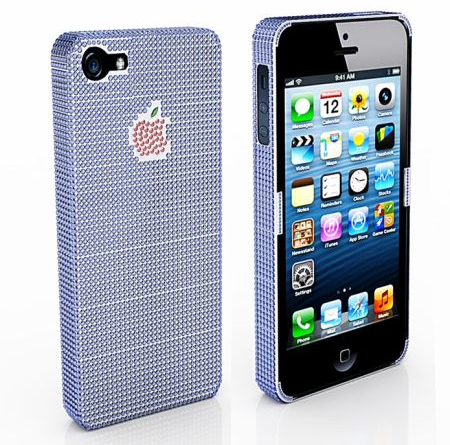 photo of $100000 sapphire and ruby iphone 5 case cover