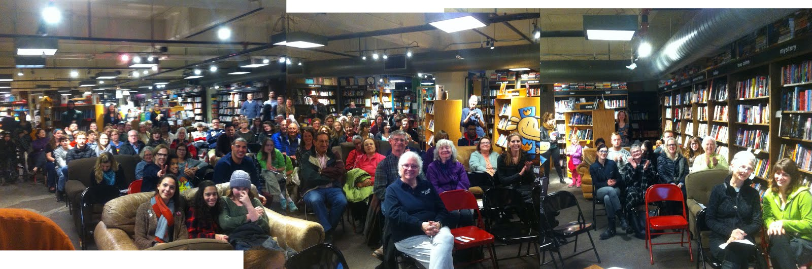 My latest book event