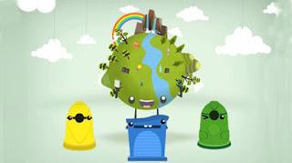 reciclar ayuda a la sostenebilidad del planeta