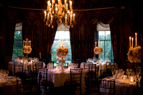 Prestonfield house the italian room private dining for Best private dining rooms edinburgh