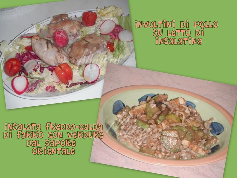 Cucina e altre passioni...: Pranzo leggero...ma per chi ...