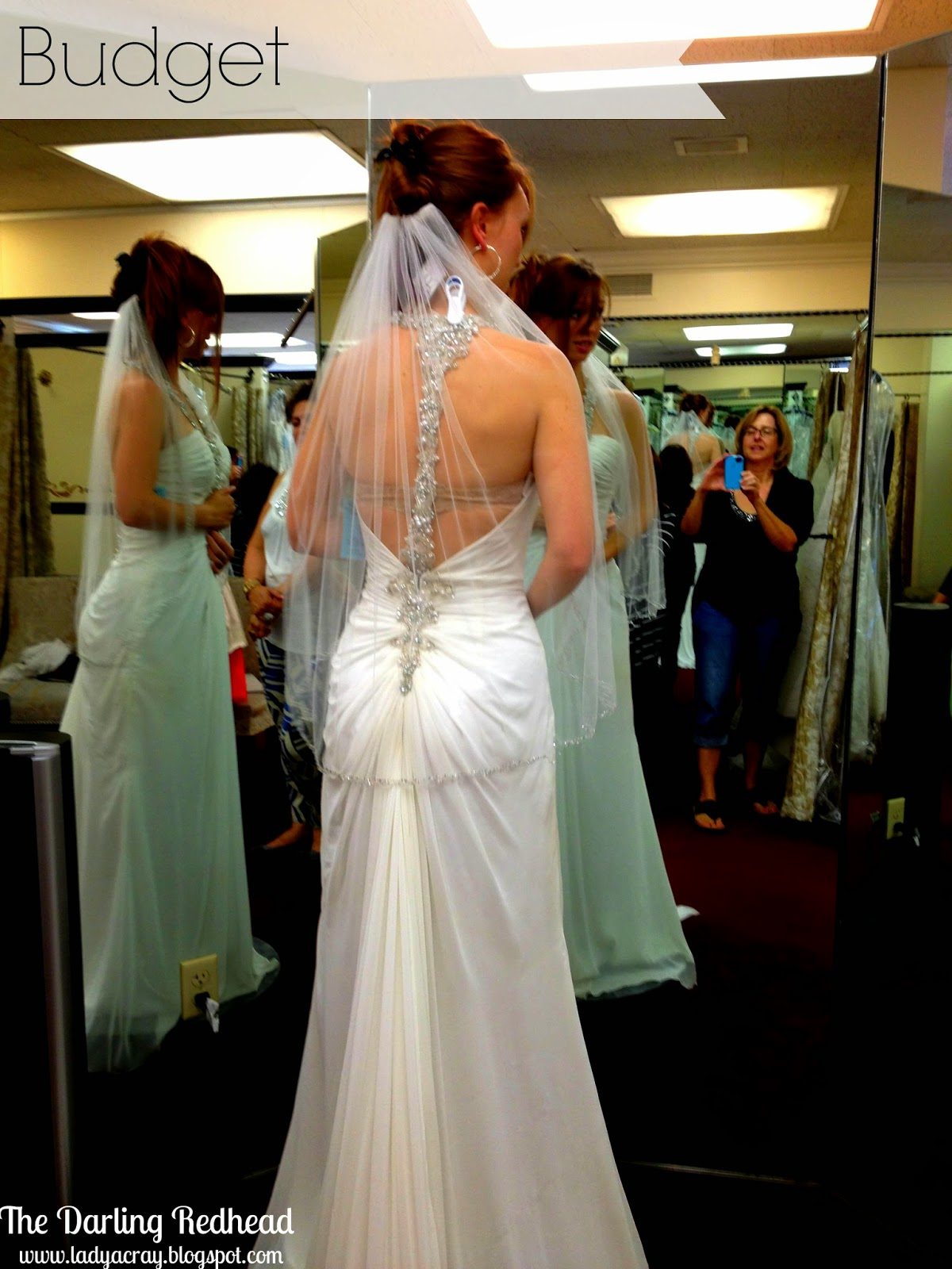 The Darling Redhead: 4 Tips for Wedding Dress Shopping