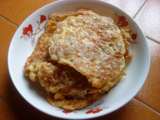 Cooking Pleasure: Fried Egg Omelette With Preserved Radish [Chai Por]