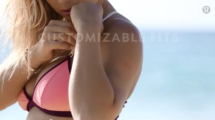 lululemon bikini peach
