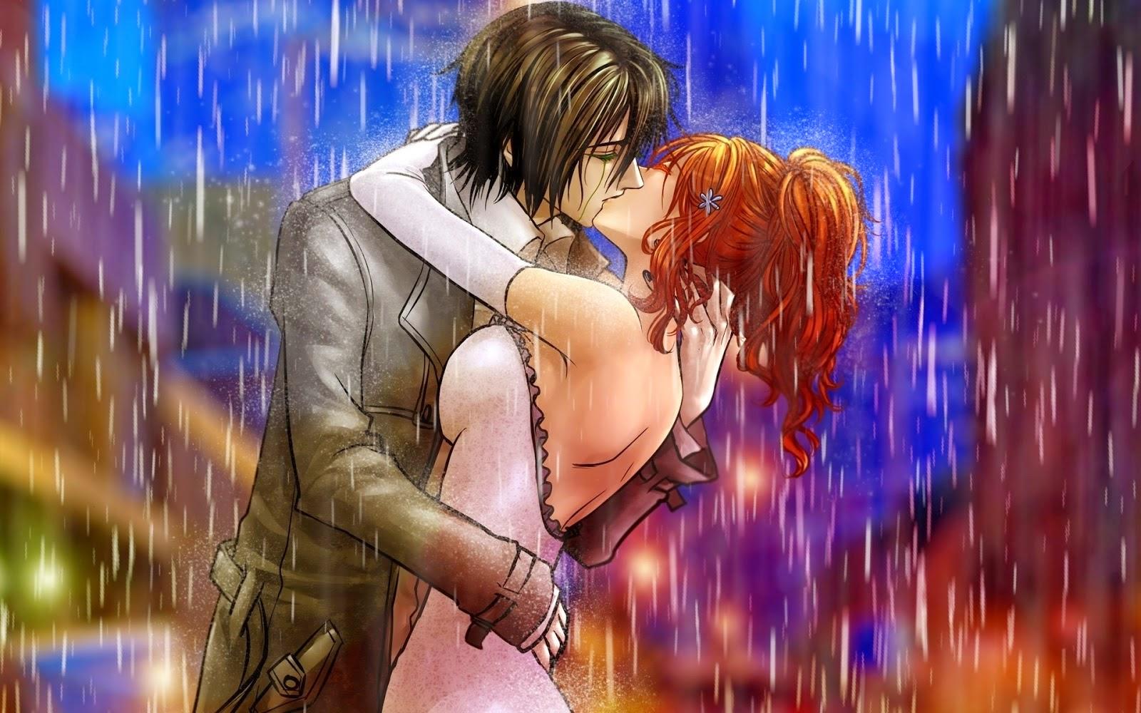 xem ảnh nền anime tình yêu