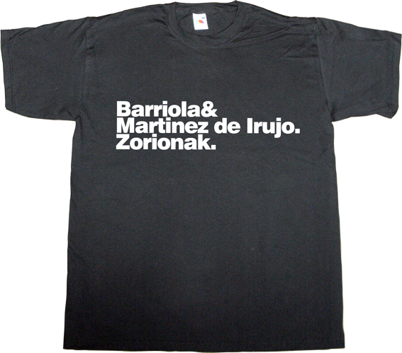 fronton fronton tv pelota mano txapela t-shirt ephemeral-t-shirts