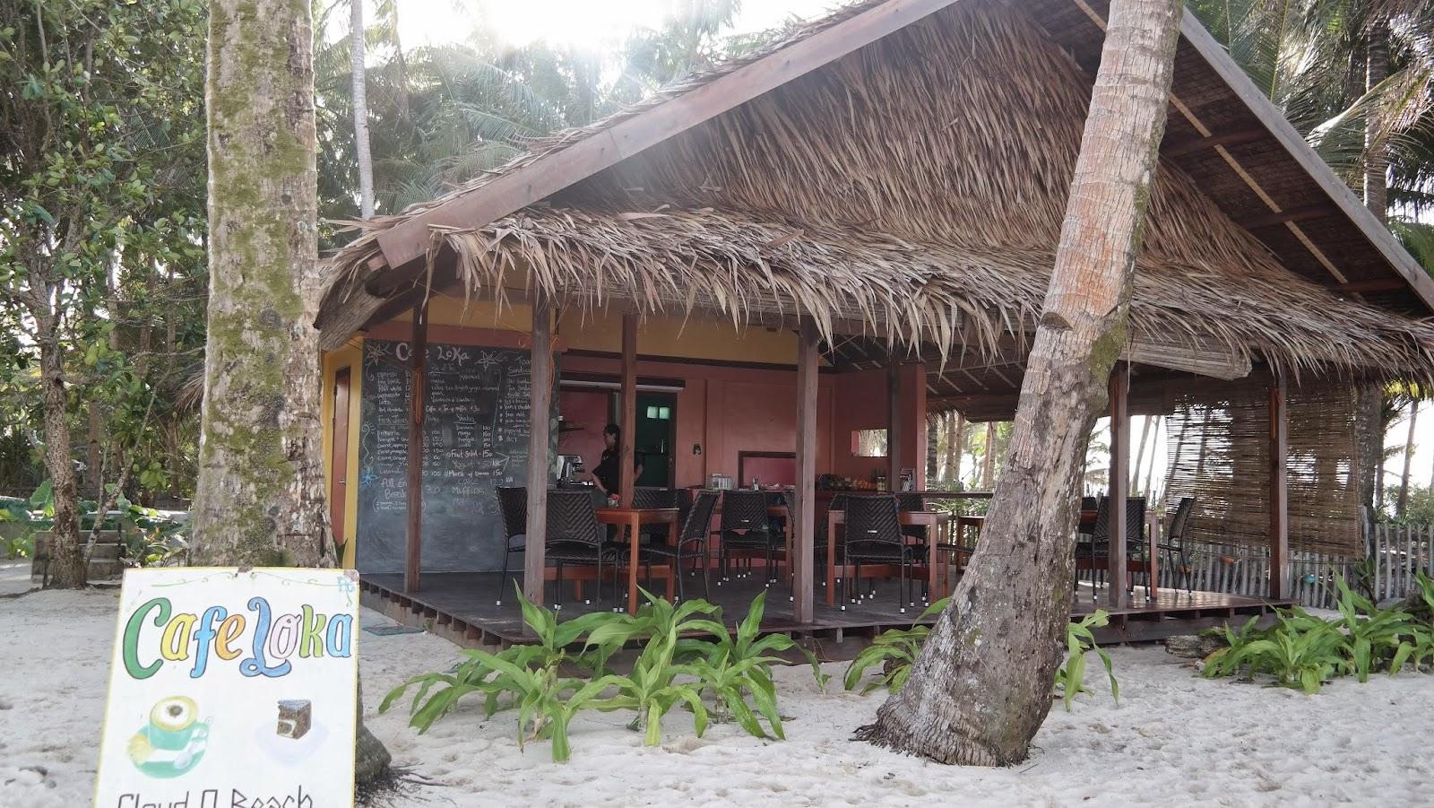 sand under my feet siargao 2015 travel diary cafe loka